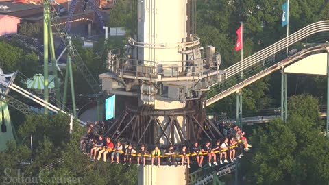 AtmosFear freefall tower at Liseberg Gothenburg in Sweden