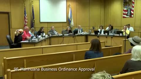 Marijuana Ordinance Approval NEWS!