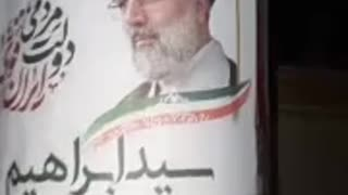 """Iranians revolting against their """"Sham Election""""."""