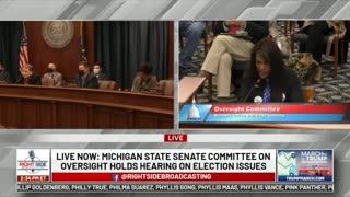 Michigan Election Hearing - Clip 1