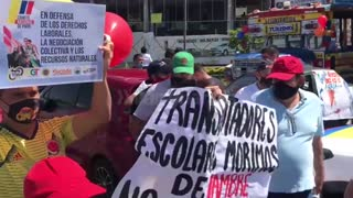 Jornada de protestas en Bucaramanga