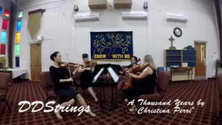 A Thousand Years by Christina Perri - DDStrings Quartet Demo