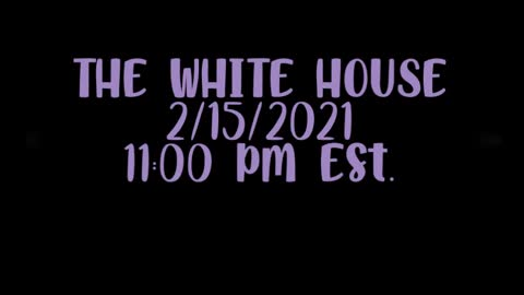 Every night the White House lights go out at 11 pm since Biden