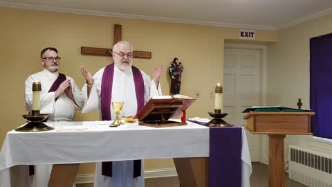 Daily Mass -- February 24, 2021