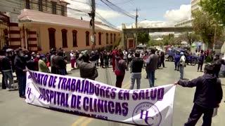 Bolivia doctors strike over Health Emergency Law