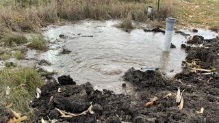 Rural Water main break