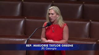 Rep. Marjorie Taylor Greene introduces Articles of Impeachment to Congress for Joe Biden