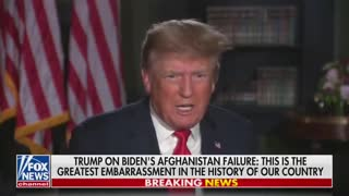 Trump SLAMS Biden: China is Laughing at Us Over Afghanistan Crisis