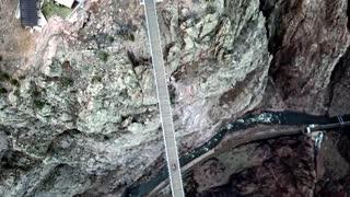 Mavic Pro FPV over Royal Gorge, April 2019