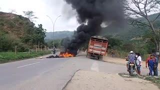 Informales bloquearon paso en el norte de Bucaramanga