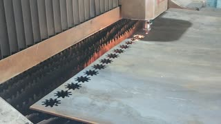 laser cutting in production