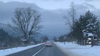 Road to Bukovel,Ukraine
