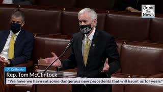 McClintock speaks on the house floor