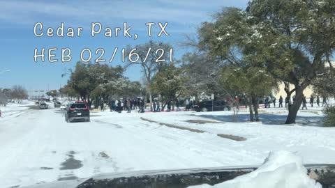 Cedar Park, TX HEB 02/16/21