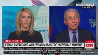 """Dr. Anthony Fauci on """"State of the Union."""""""