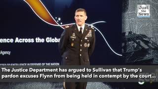 Federal Judge Sullivan formally dismisses fed's case against former national security adviser Flynn