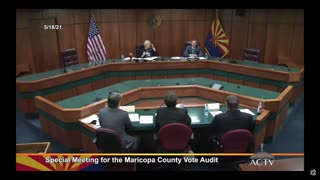 Maricopa County Audit Team Admit Files Were Deleted but THEY WERE ABLE TO RECOVER THOSE FILES!