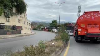 Video: Accidente en Chimitá ocasionó gran trancón este miércoles