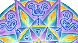 Angelic Solfeggio Frequency Mandalas