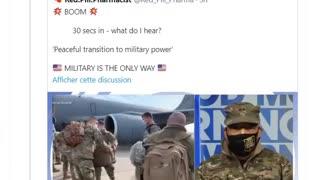 Transition pacifique vers le pouvoir militaire