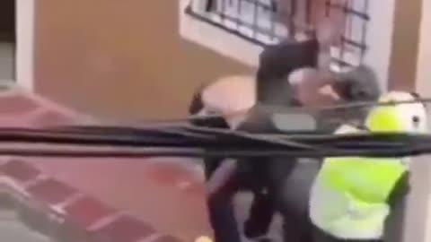 video comic the policeman