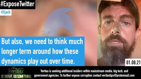 Twitter Insider Secretly Records CEO Jack Dorsey ()