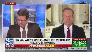 Neil Cavuto And Sen. John Thune Discuss Criticism From Trump