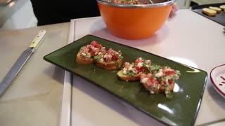Marti's Home Cookin' - Bruschetta Quick and Easy