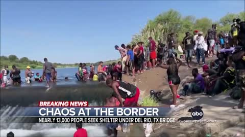 Texas City Declares State Of Emergency Over Migrants (Source 01