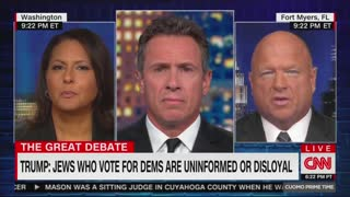 Chris Cuomo upset over Trump Jew remarks