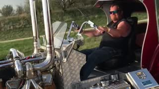 It's a Truck Trike
