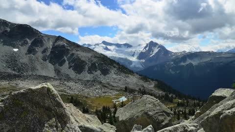 Time lapse: Stunning mountain range in British Columbia, Canada