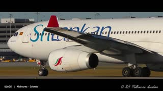 5 BIG PLANES Taking Off From VERY CLOSE UP   Melbourne Airport Plane Spotting