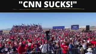 "Trump Supporters to Jim Acosta: ""CNN SUCKS!"""