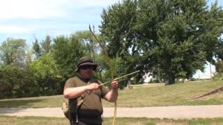 Making Cattail Arrows