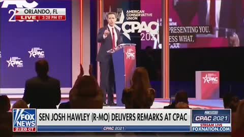 Sen. Hawley: 'I'm Not Going Anywhere and I'm Not Backing Down!'