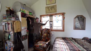 Tiny house off the grid in Alaska
