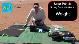 Configuring a Portable Off-Grid Solar Power System
