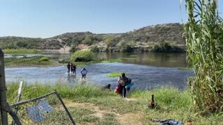 Del Rio Border Crisis Haitian Migrant Camp 2021