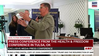 Gen. Flynn Exclusive Interview From Tulsa, OK