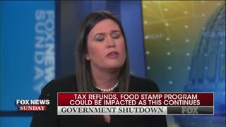 Sarah Sanders explains Trump's true goal