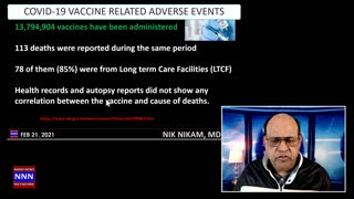 COVID 19 ADVERSE VACCINE EVENTS AFTER 13 MILLION DOSES
