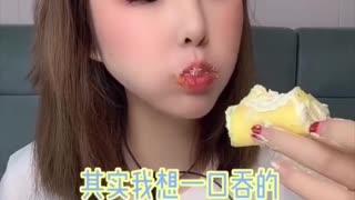 ASMR Eating Mukbang Eating A Nice Cake