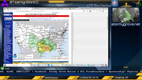 April 23-24, 2021 Southern U.S. Severe Weather Briefing | PC2 StormStalkers