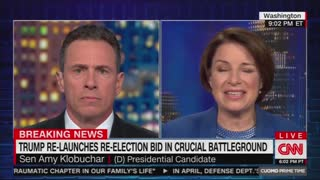 Chris Cuomo is sad that Democrat can't pack stadiums the way Trump does