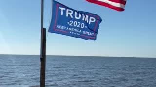 Trump 2020 flag!