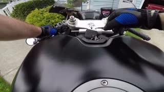 Ducati 848 Evo ride !
