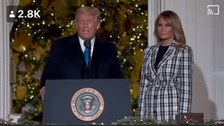 Marry Christmas From The White House !