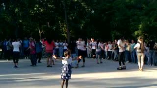 children dance of xinjiang