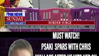 MUST WATCH! WALLACE CALLS PSAKI OUT FOR LACK OF TRANSPARENCY AT THE BORDER